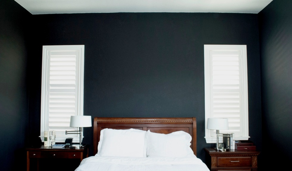 Black Bedroom Color